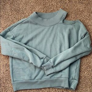 Aerie shoulder cut out sweater